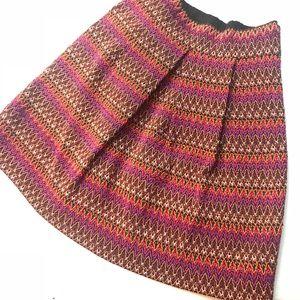 Annabella Elastic Mini Skirt Multi-Color Thread SM